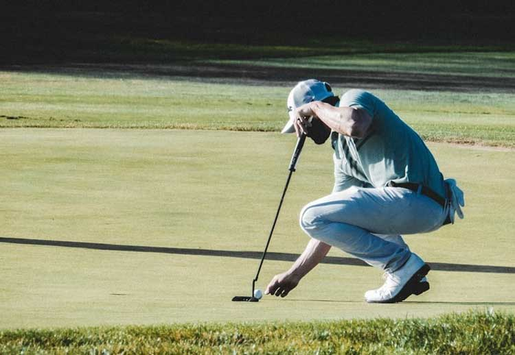 he's back! furr has solved his golf mystery