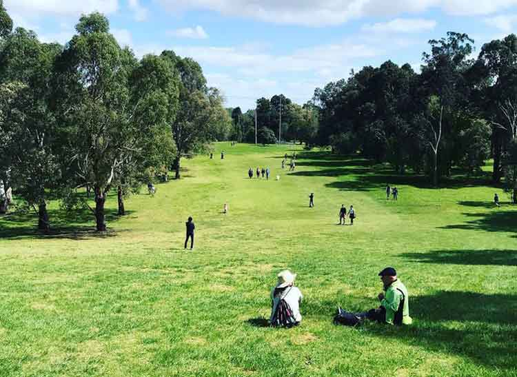 parks converted to golf courses